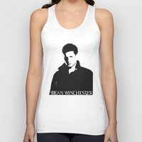 winchester Tank Tops featuring Dean Winchester by TeganFanella