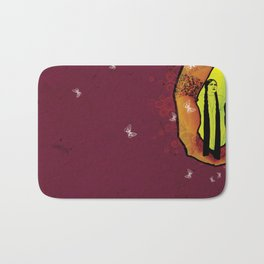 For you - maroon Bath Mat