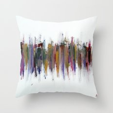 City V - Love Towers Throw Pillow