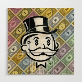 Another Day - Another Dollar Wood Wall Art