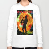 new orleans Long Sleeve T-shirts featuring New Orleans  by Saundra Myles