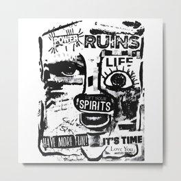 Power Ruins Metal Print