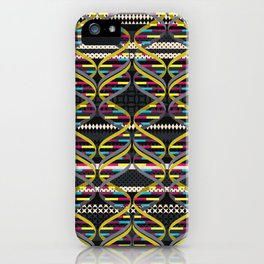 Pattern DNA iPhone Case