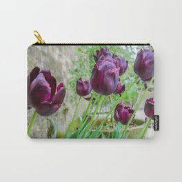 The Lost Gardens of Heligan - Black Tulips Carry-All Pouch