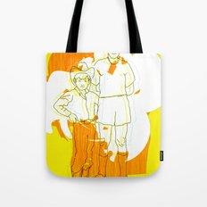 cowboy  geek Tote Bag