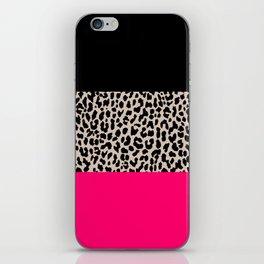 Leopard National Flag IV iPhone Skin