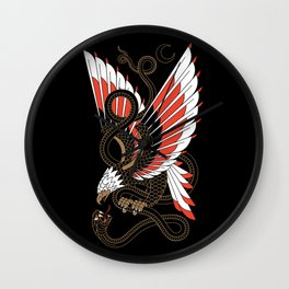 Americana - Eagle & Serpent Wall Clock