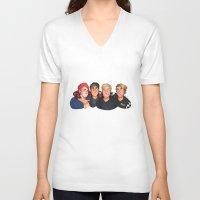 beastie boys V-neck T-shirts featuring Boys by gabitozati