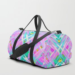 Colorful digital art splashing G473 Duffle Bag