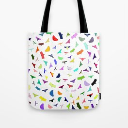 Colorful panties print Tote Bag