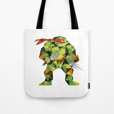 Twin Sai Turtle Tote Bag