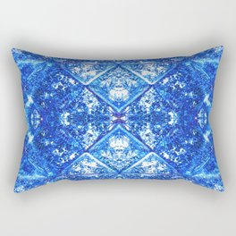 135 - old folded paper design Rectangular Pillow