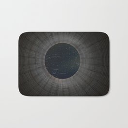 Looking up a Nuclear Cooling Tower Bath Mat