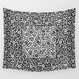 Black Chains Wall Tapestry