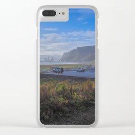 Vik. Clear iPhone Case