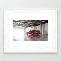 ferrari Framed Art Prints featuring Ferrari by 4wheelsoflux