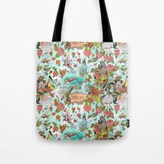 Fairy Tale Tapestry Tote Bag