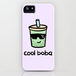 Cool Boba iPhone Case