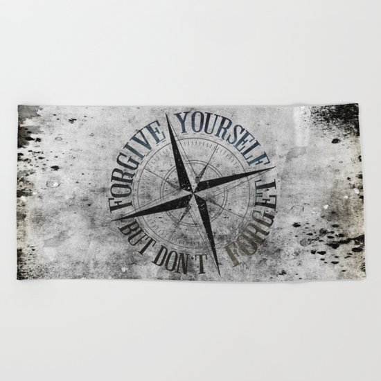 Never Fade - Don't Forget Beach Towel