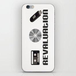 cassette / Cd / flash memory  iPhone Skin