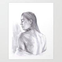 Queen of Crows Art Print