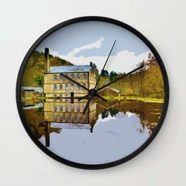 Gibson Mill - Hardcastle Crags Wall Clock