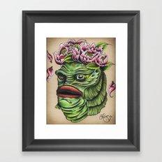 Queen of the Swamp Framed Art Print