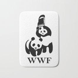 WWF parody T-Shirt Bath Mat