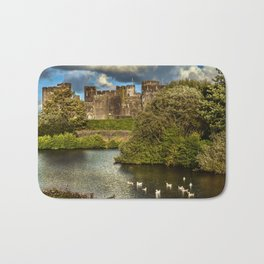Caerphilly Castle Western Towers Bath Mat