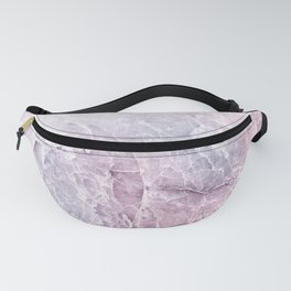 Sea Dream Marble - Rose and white Fanny Pack