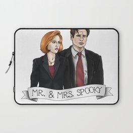 MR& MRS SPOOKY Laptop Sleeve