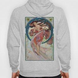 Alfons  Mucha The Arts Dance Hoody