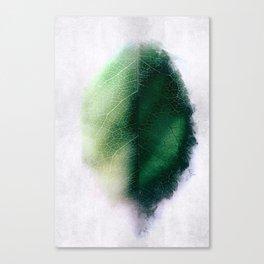 Digital Leaf Canvas Print