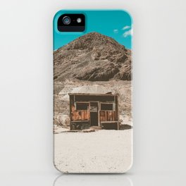 In The Middle of Nowhere | Rhyolite, Nevada iPhone Case