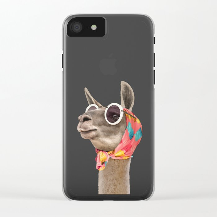 FASHION LAMA Clear iPhone Case