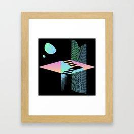 S T A I R S _ 1.0 Framed Art Print