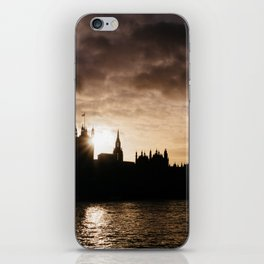 View over Westminster, Big Ben, London at Sunset iPhone Skin