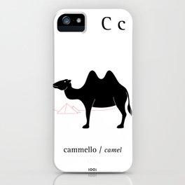C/Camel iPhone Case