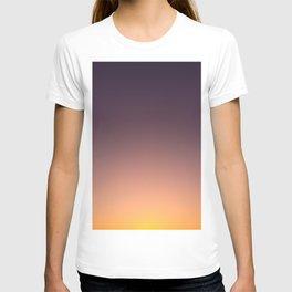 LA sunset sky gradient 0041 T-shirt