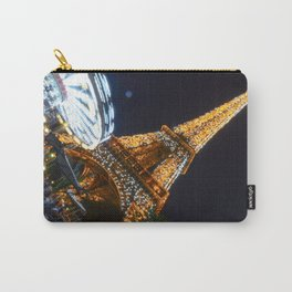 Overexposed | Eiffel Tower Carry-All Pouch