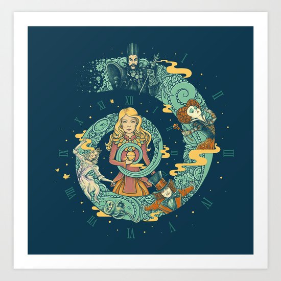 It's Time For A Little Madness Art Print