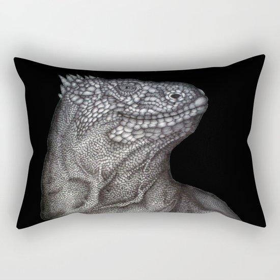 Gary in Black Rectangular Pillow