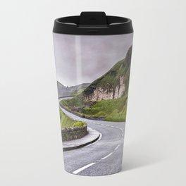 Windy road,Dunluce castle,Ireland,Northern Ireland Travel Mug