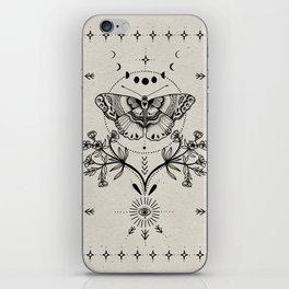 Magical Moth iPhone Skin
