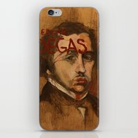 degas iPhone & iPod Skins featuring 50 Artists: Edgar Degas by Chad Beroth