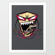 Chest burst of Doom Art Print