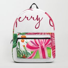 Merry Christmas Design Elements 1 Backpack