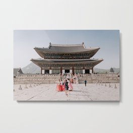 Gyeongbokgung: Korean Palace Metal Print