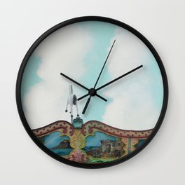 The Flying Horse Wall Clock