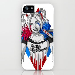 Harley Quinn Armed iPhone Case